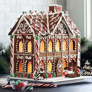 Gingerbread Bakery Custom Christmas House Delivery 24 7