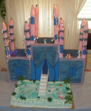 A CASTLE CAKE MADE TO ORDER YOUR WAY